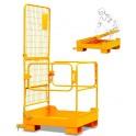 Nacelle de maintenance aérienne repliable pour chariots élévateurs / Capacité 300 kg