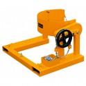 Retourneur-basculeur de fût pour chariot élévateur / Capacité 365 kg