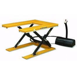 Table élévatrice fixe électrique extra-plate en « U » 1000 kg/860 mm