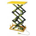 Table élévatrice fixe électrique 1000 kg/3000 mm