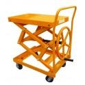 Table élévatrice manuelle à volant 200 kg/920 mm
