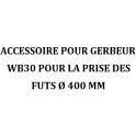 Accessoire fût Ø400mm pour gerbeur WB30