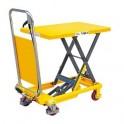 Table élévatrice manuelle 150 kg / 740 mm