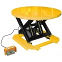 Table élévatrice électrique avec plateau rotatif (2 modèles)