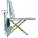 Transpalette INOX à haute levée électrique Monocylindre / Capacité 1000 kg