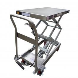 Tables élévatrices manuelles semi INOX (3 modèles)