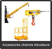 les accessoires pour votre chariot élévateur