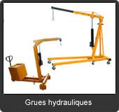 notre gamme de grues hydrauliques