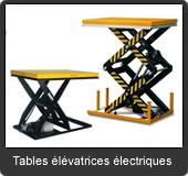 notre gamme de tables élévatrices électriques